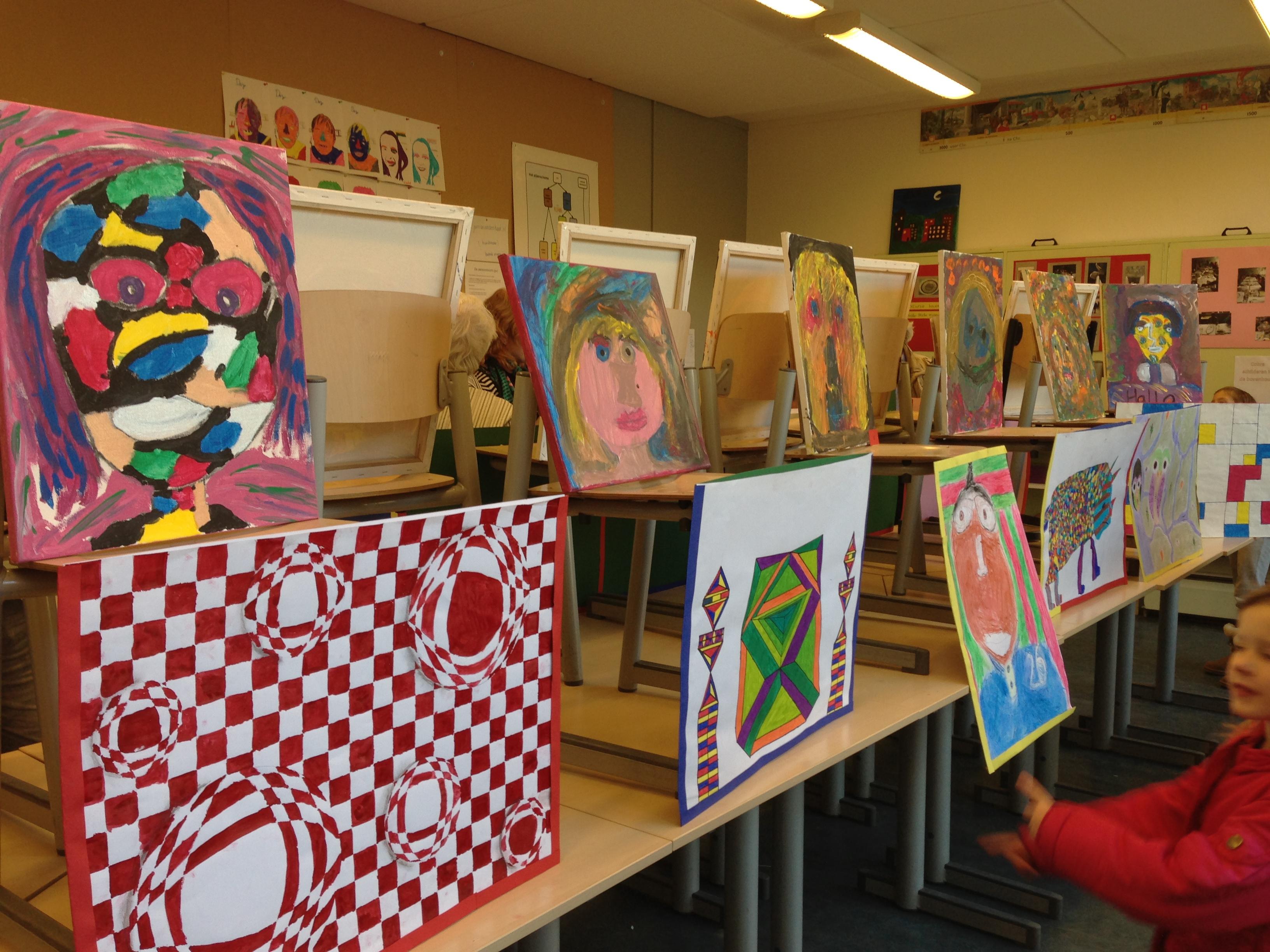 Verwonderlijk Afronding thema Kunst | De school FZ-65